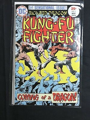 Dc Comics Richard Dragon Kung-Fu Fighter #1 First Appearance Fn/vf