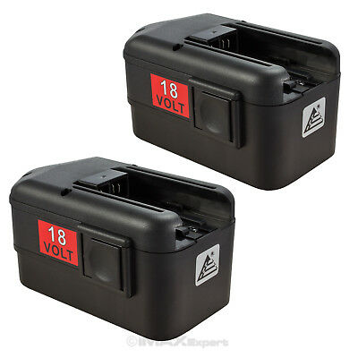 2 x NEW 18Volt  BATTERY for MILWAUKEE 18V 48-11-2200 48-11-2230 2232 Battery