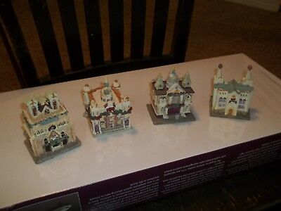 Cathedrals Of The World Handcrafted Set Of 4 Ceramic 1991