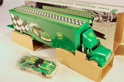 1995 BP TOY RACING TRANSPORT TRUCK 5th IN A SERIES LIMITED EDITION MINT