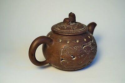 Old Chinese YiXing Teapot ( mark and signe)