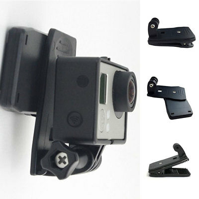 Backpack Hat Quick Release Clip Mount for Action Camera GoPro 360 Rotating