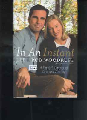 BOB& LEE WOODWARD signed ~1st Ed IN AN INSTANT~HC/DJ hc