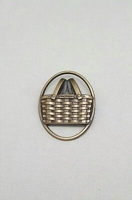 Longaberger Basket Consultant Pin Brooch Collectible
