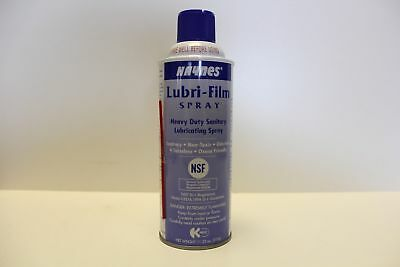 Lubri-Flim Spray Sanitary Plastic Type Solid Film Lube 11.25Oz. Can 6/Box