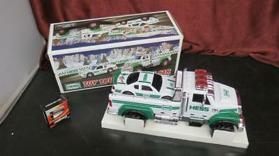 Hess Toy Truck and Race Car 2011 New w/Batteries