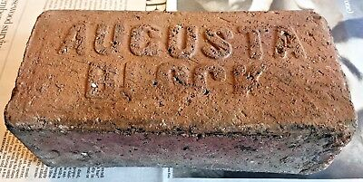 Vintage Antique Augusta Block Street Paver From Tampa Bay Area of Florida