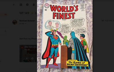 Worlds Finest 149 - May 1965 -  Fine
