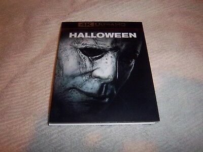 HALLOWEEN 2018 (from 4K Blu-ray) slipcover only 4.25 and free shipping