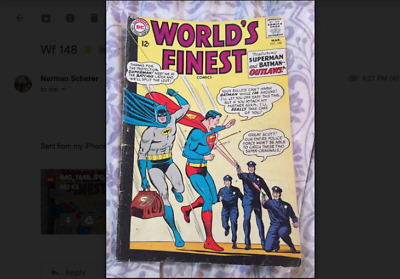 Worlds Finest 148 - March 1965 -  Very Good