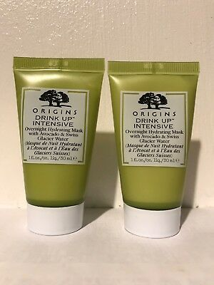 Origins Drink Up Intensive Overnight Mask 2 oz. NWOB 100% authentic