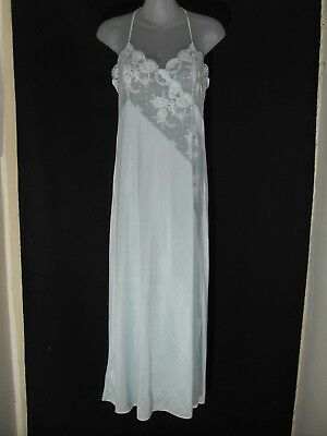 1960's Vintage Full length Petticoat with Lace Trim.