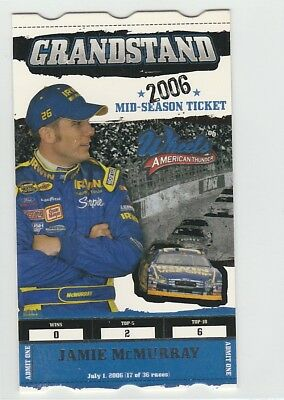 Jamie McMurray 2006 Wheels American Thunder Grandstand #GS18