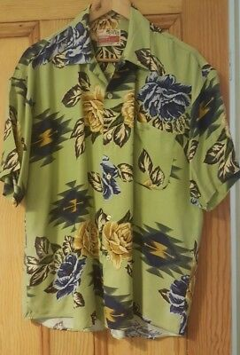 Vintage Men's Shirt Made in Australia by Box Canyon Size M