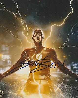 Grant Gustin CW The Flash Signed Autograph 8x10