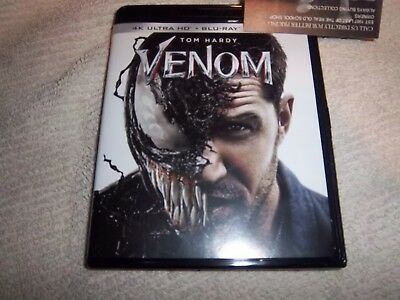 Venom 4K    4k and blu ray only