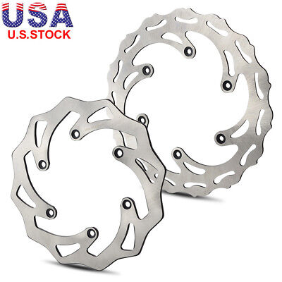 Front Rear Brake Disc Rotor For KTM  KTM SX SXF XC EXC EXCF XCW XCF XCFW 125-500