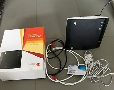 Telstra T-Gateway Technicolor TG797N v3 ADSL2+ Modem Router N300 Access Point