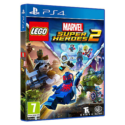 LEGO Marvel Super Heroes 2 (PS4) | Brand New & Sealed | + Fast & Free Delivery !