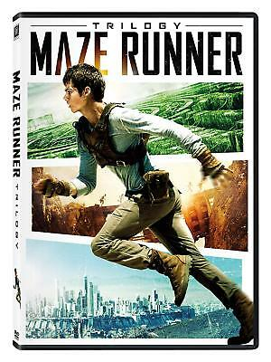 The Maze Runner Scorch Trials Death Cure Complete 1 2 3 Movie Collection DVD Set
