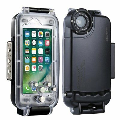 40m Waterproof Diving Housing Underwater Cover Case for iPhone 6S X 8 7 8 PlusTY
