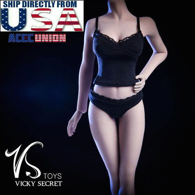 "1/6 Camisole Panties Underwear Set For 12"" PHICEN JIAOU DOLL Female Figure USA"