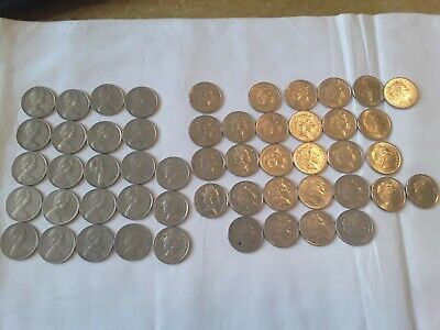Aust 10 cent coin collection 1966 to 2017 circ set incl 1985, 1991 & 2011