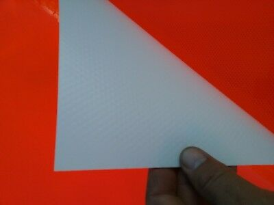 (75)3M Reflective Sheeting Reflector Sign Tape 3'x 3' Construction Diamond Grade