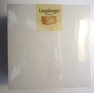 "New Retired LONGABERGER  Post It Note Pad 3"" X 3"" x 2 1/2"""