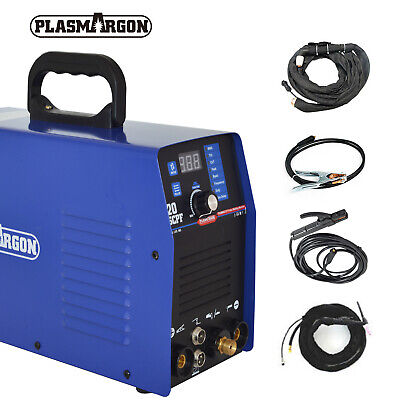 520TSC Cut TIG MMA Air Plasma Cutter 3IN1 Multifunction Welding 110/220V &halmet