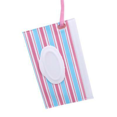 Wet Tissue Paper Bag Case Care Baby Wipes Napkin Storage Box Container FW