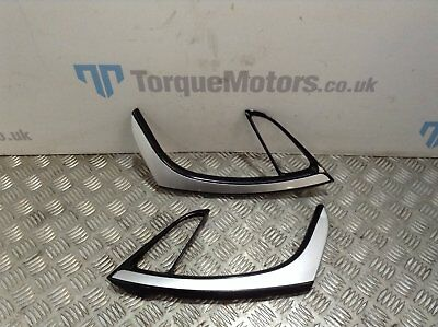 Astra J VXR GTC Front door card handle trims PAIR