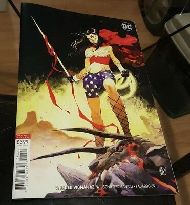 Wonder Woman #62 Matteo Scalera Variant NM or Better