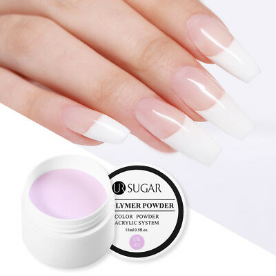 15ml UR SUGAR Acrylic Powder Base Color Nail Tip Extension French  Tool