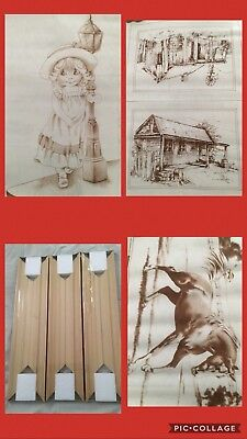 Bulk Lot Of Hobbytex Pictures And Transfers Lot 9 - ALL New With Instructions