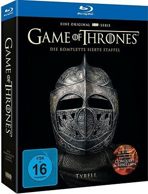GAME OF THRONES, STAFFEL 7 (5 Blu-ray Discs) Digipack im Schuber NEU+OVP