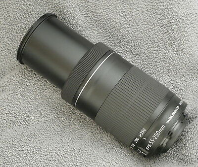 Canon Ef-S 55-250Mm F4-5.6 Is Stm Lens Plus Lenshood