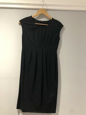 George Maternity Black Dress - Size UK 8