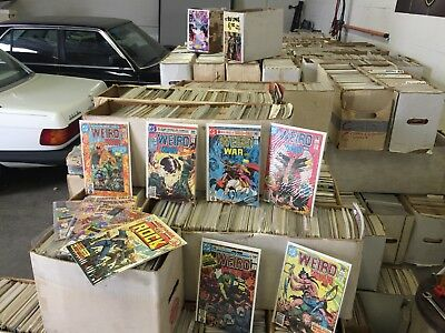 Warehouse Lot of 50,000+ Comics DC Marvel Indies Make an Instant Comic Shop  WOW