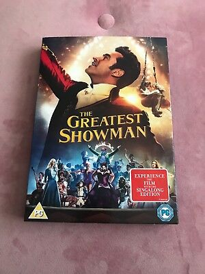 The Greatest Showman DVD. Sing along Edition