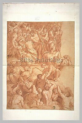 Alessandro Allori All10 Artist Painting Reproduction Handmade Canvas Repro Wall