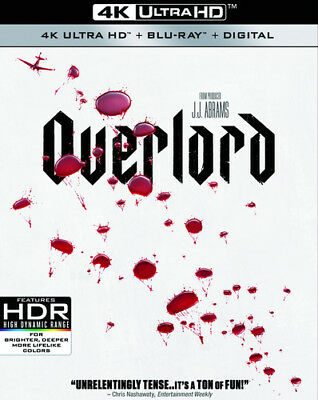 OVERLORD   (4K ULTRA HD ) Blu Ray Region free