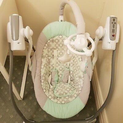As new 4Baby Rocker Bouncer with Remote Control - Local Pick Up Melbourne