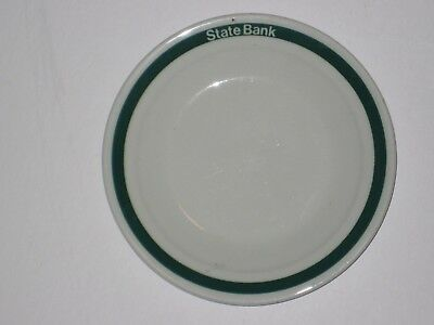 collectable State Bank small plate