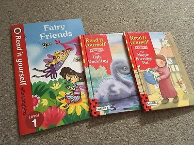 Read it yourself ladybird books level 1 bundle of three books