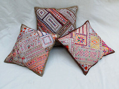 37x37cm Orient Patchwork Kissen Kissenhülle Embroidered pillow Cushion cover -A