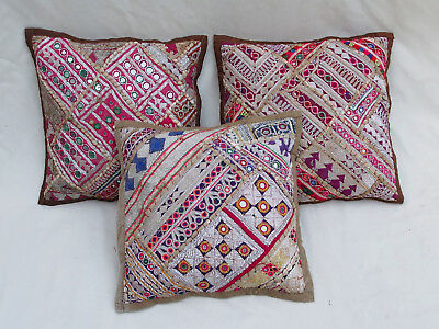 37x37cm Orient Patchwork Kissen Kissenhülle Embroidered pillow Cushion cover -C