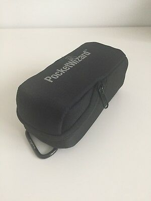 Pocket wizard case, black, used but in excellent clean condition