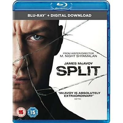 Split (Blu-ray + Digital Download) [2017] Blu-ray