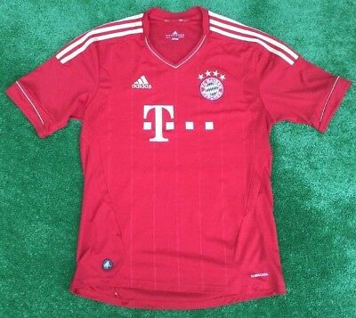 Adidas 3 Stripes   Bayern Munich  Home Football Shirt / Trikot Large Adult